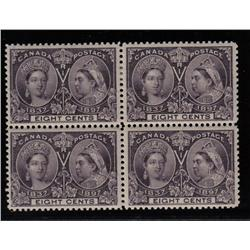 #56 VF-2NH 2LH BLOCK OF 4 *JUBILEE* C$800,00