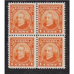 #141 to 144 VF-NH BLOCK OF 4 SET C$240,00