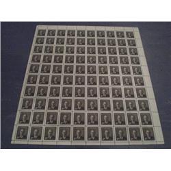 #290 NH UR FULL SHEET 100 PLATE No1