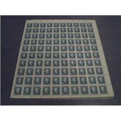 #303 NH UR FULL SHEET 100 PLATE No2