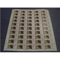 #492 XF-NH FULL SHEET 50 CBN PRINT C$250,00