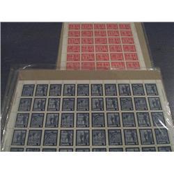 #629-632 + 644-647 XF-NH FULL SHEET OF 50 SEALED