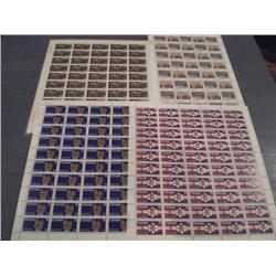 #732 to 736 XF-NH FULL SHEET OF 50