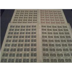#753 to 756 XF-NH FULL SHEET OF 50 *CAPEX 1978*