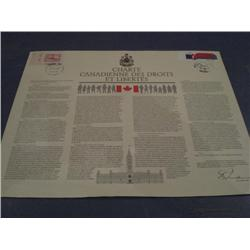 #916 & 909 CANADIAN CHARTER OF RIGHTS & FREEDOMS