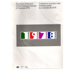 SEALED SOUVENIR COLLECTION #21 YEAR 1978 C$30,00