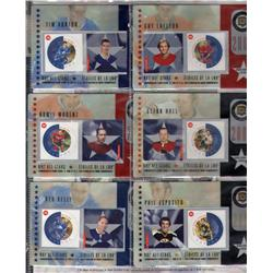 THEMATIC COLLECITON #110 YEAR 2002 *HOCKEY NHL ALL STARS STAMPS CARDS*