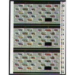 1996 #1605 HISTORIC VEHICLES Canada Uncut Press Sheet -CAR, VAN, TRUCK ETC….