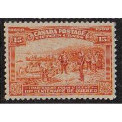 CANADA #102 XF-NH PERFECTION CAT$750.00
