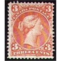 #25i F-VF LARGE QUEEN ORANGE RED C$2500,00