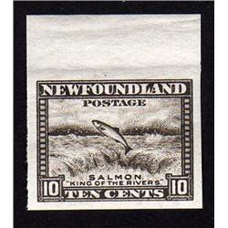 NEWFOUNDLAND #193a XF NH IMPERF MARGIN SINGLE