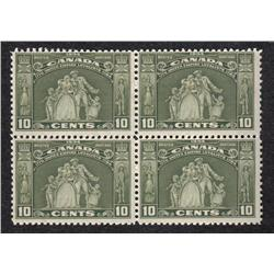 #209 VF-NH BLOCK OF 4 C$320,00