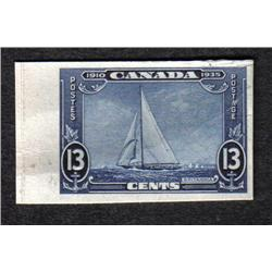 #216 VF PLATE PROOF ON CARD C$150,00