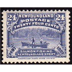 NEWFOUNDLAND #71 VF-LH MINT  CAT$40,00