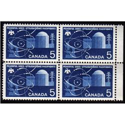 #449var XF-NH BLOCK 4 *ANILINE BLUE INK VARIETY*