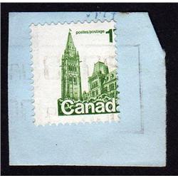 Canada #790var USED *MISSING (7) VARIETY* DRASTIC SHIFT