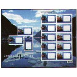 Canada #1991Ci-1991Di ALASKA CRUISE COMPLETE SHEET OF 10