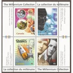 #1818 to1834 COMPLETE MILLENNIUM SET COLLECTION, S/S 4 (QTT 17 Souvenir Sheet)