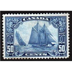 CANADA #158 VF-LH BLUENOSE C$350.00