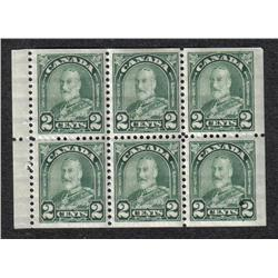 #164ai VF-5NH 1LH BOOKLET PANE OF 6 C$300,00