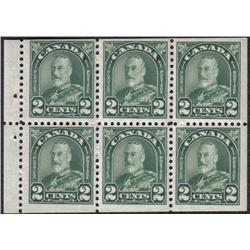 #164a VF-NH BOOKLET PANE OF 6 C$67,50