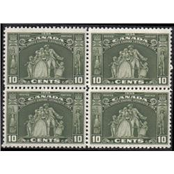 #209 XF-NH BLOCK OF 4 C$320,00 A PERFECTION