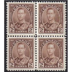 #211 to 216 VF-NH BLOCK 4, SOME WITH INSCRIPTION C$240,00