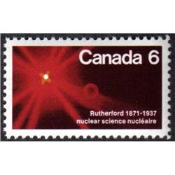 #534var XF-NH *Canada 6* DOUBLE IMPRESSION VARIETY ERROR