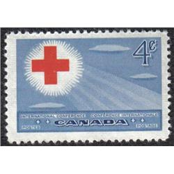 #317var VF-NH SHIFTED CROSS VARIETY ERROR