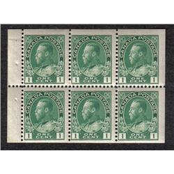 #104aiv MINT NH BOOKLET PANE OF 6