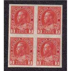 #138 XF-NH IMPERF BLOCK OF 4