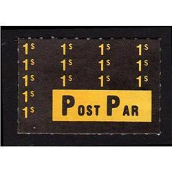 POST PAR 1$ SINGLE XF-NH *SCARCE*