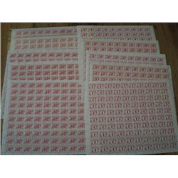 POSTAGE DUE FULL SHEET COLLECTION QTT 11----ALL XF-NH  C$575,00