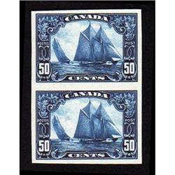 #158a XF IMPERF PROOF PAIR *THE BLUENOSE*