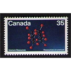#865var XF-NH UR *DOUBLE PRINT (Canada 35) VARIETY ERROR)