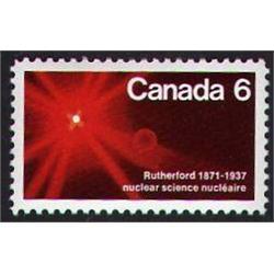 #534var XF-NH *Canada 6* DOUBLE IMPRESSION VARIETY ERROR