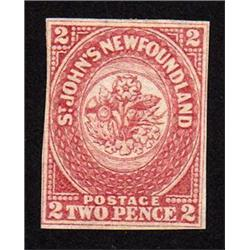 NEWFOUNDLAND #17 XF-NH IMPERF SELECT C$600.00