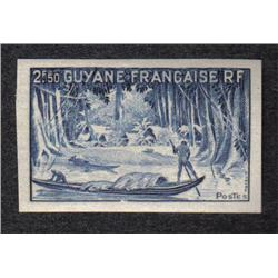FRENCH GUYANA #199 XF-NH IMPERF