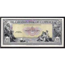 BANK OF COMMERCE $20 -- JANUARY 2nd, 1917
