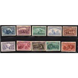 USA #230 to 245 XF-RARE PROOF COLUMBIAN EXPOSITION ISSUE COMPLETE SET