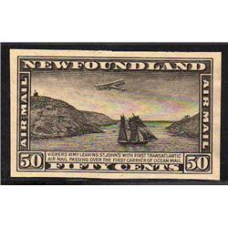 NEWFOUNDLAND #C6a-C7a-C8a XF IMPERF PROOF