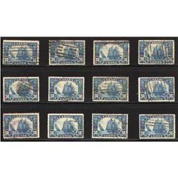 #158 VF USED BLUENOSE COLLECTION (QTT 12) C$1200,00
