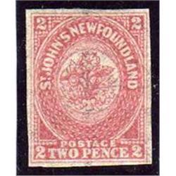 NEWFOUNDLAND #17 XF-NH SELECT
