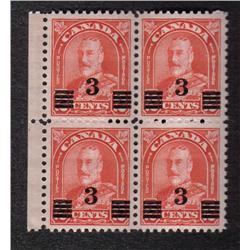 #191 VF NH BLOCK OF 4