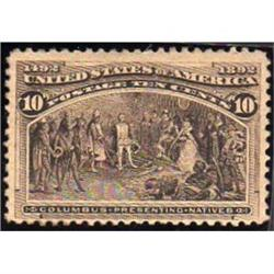 USA #237 VF-LH COLUMBIAN ISSUE