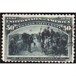USA #240 VF-USED COLUMBIAN ISSUE