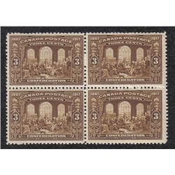 #135 XF-NH SELECT BLOCK OF 4