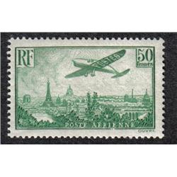 France #C14 VF-NH AIRMAIL