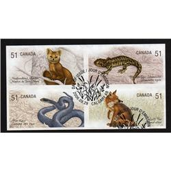 2006 NEW ISSUE ENDANGERED SPECIES IMPERF USED BLOCK OF4
