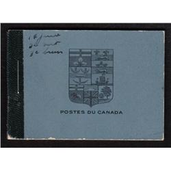 #BK9a SCARCE COMPLETE BOOKLET C$1425,00